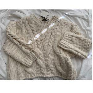 Zara knit ecru/cream